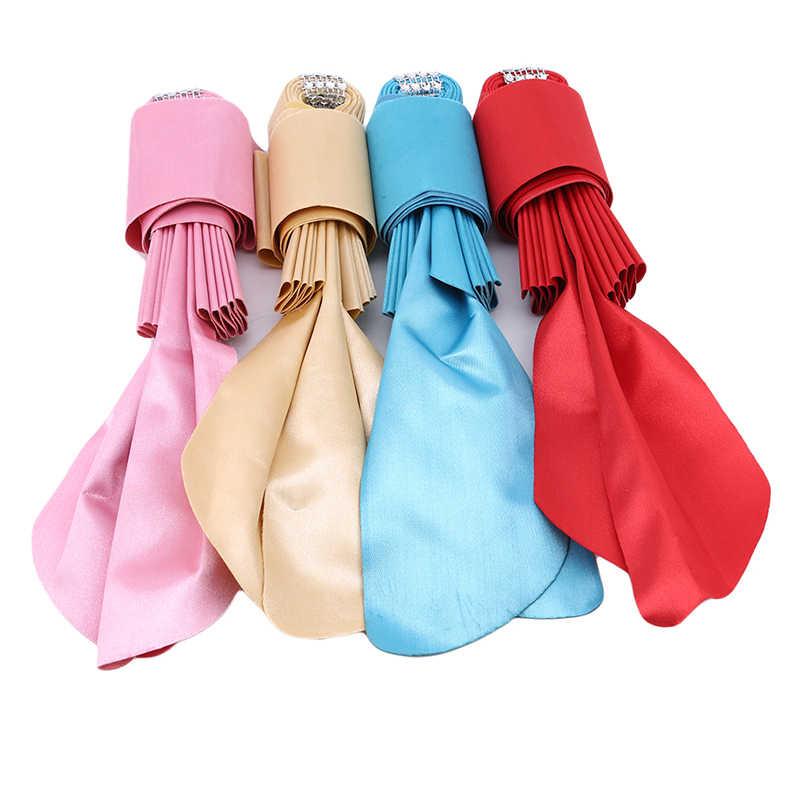 20 шт./упак. стул пояса регулируемый галстук бабочка Банкетный сиденье украшения для свадьбы ленты полосы Декоративные Аксессуар