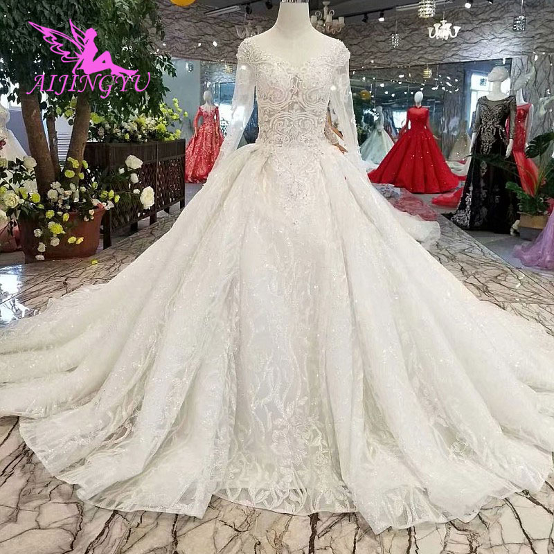 Wedding Gown For Sale: AIJINGYU Top Wedding Dresses Designers Bridal Gowns For