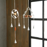 Zakka Japanese Home Furnishing Bedroom Door Trim Bell Chimes Ornaments Shop Decoration Pendant Birthday Gift
