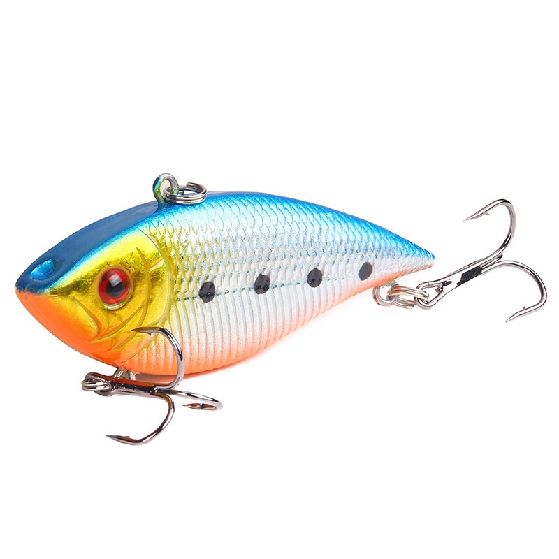Image 4 - 1PCS Fishing Sinking VIB Lure 10g 7cm Vibration Vibe Rattle Hooks Baits Crankbaits  Wobbler Fishing Jig Wing Tackle-in Fishing Lures from Sports & Entertainment