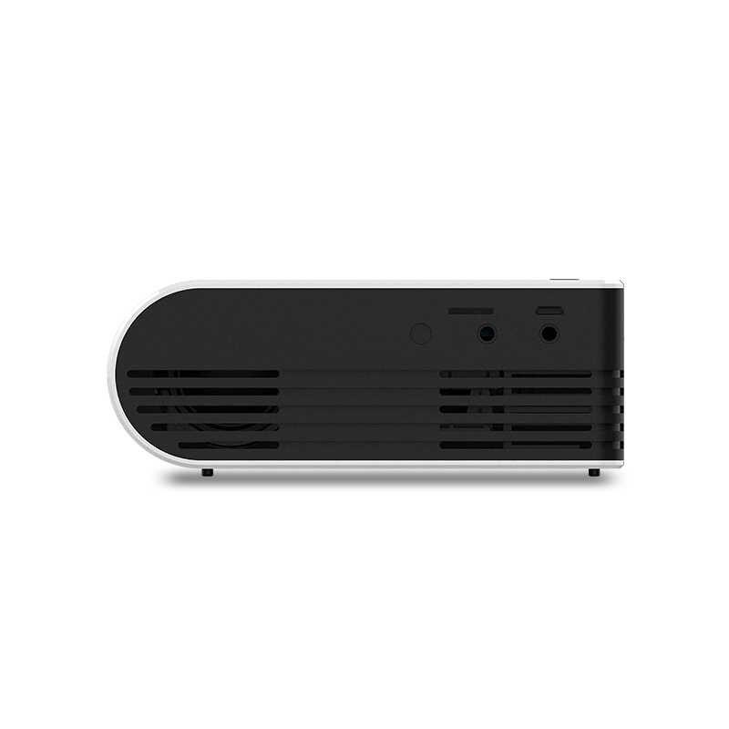 Gigxon G210 HA CONDOTTO il Proiettore 600 lumen 3.5 millimetri Audio 320x240 HDMI USB TF Micro USB Proiettore Portatile per del computer portatile smartphone Scatola del Gioco