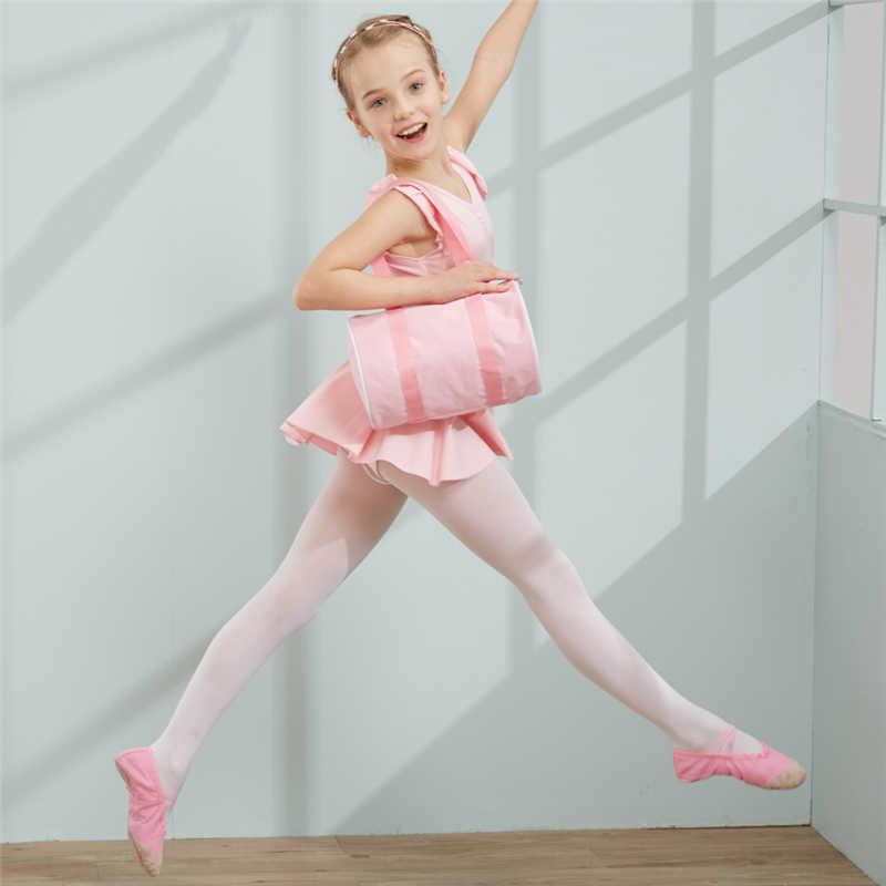 รองเท้าผ้าใบสีชมพูกระเป๋าเต้นรำกระเป๋าสำหรับเด็กผู้หญิงเด็กคุณภาพสูงกระเป๋าน่ารัก