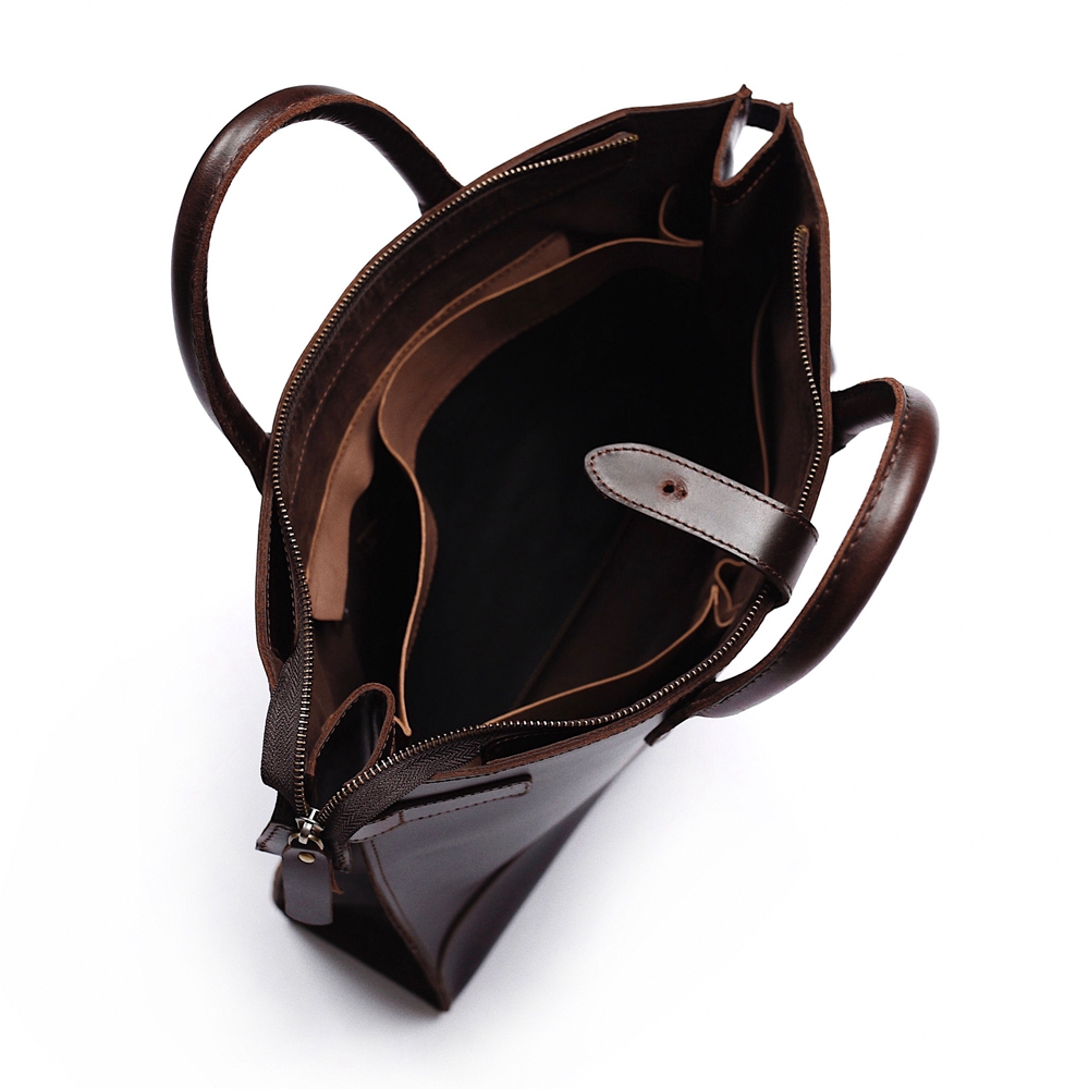 13 Vintage Büro Tasche Männer Gathersun Für Laptop Taschen Brown Zoll Aktentasche 2018 Aktentaschen Leder 1qPRA