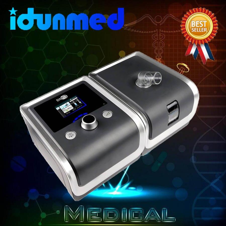 BMC CPAP Portátil Máquina de Respiração Para SAOS SAHOS Apnéia Do Sono Ronco Pessoas W/Chapelaria Máscara Nasal Tubo Saco