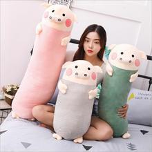 New Creative Cute Pig Plush Toy Stuffed Animal Pig Doll Toys Soft Sleeping Plush Pillow Children Birthday Gift стоимость