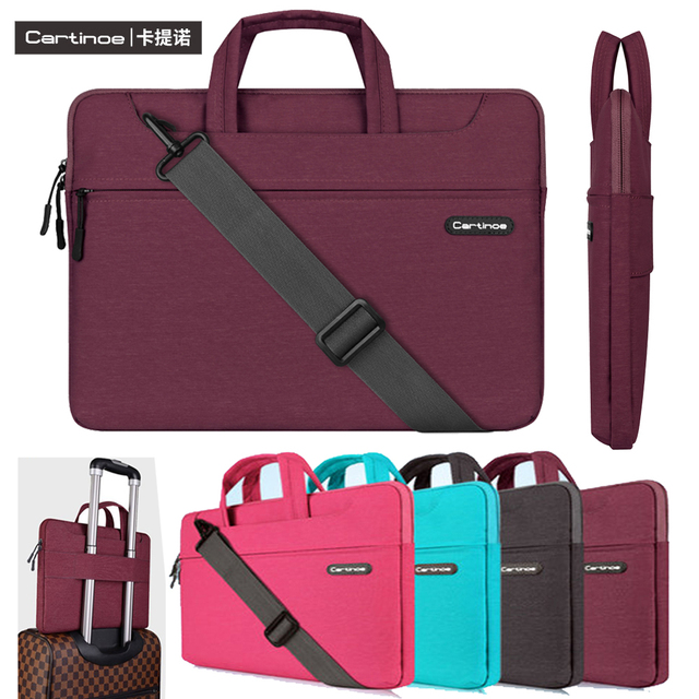 Waterproof Notebook Computer Bag-Light and Comfortable Tablet Briefcase-Band Zipper Portable Handbag Super Hero Logo 13-Inch to 15-Inch Laptop Sleeve Case
