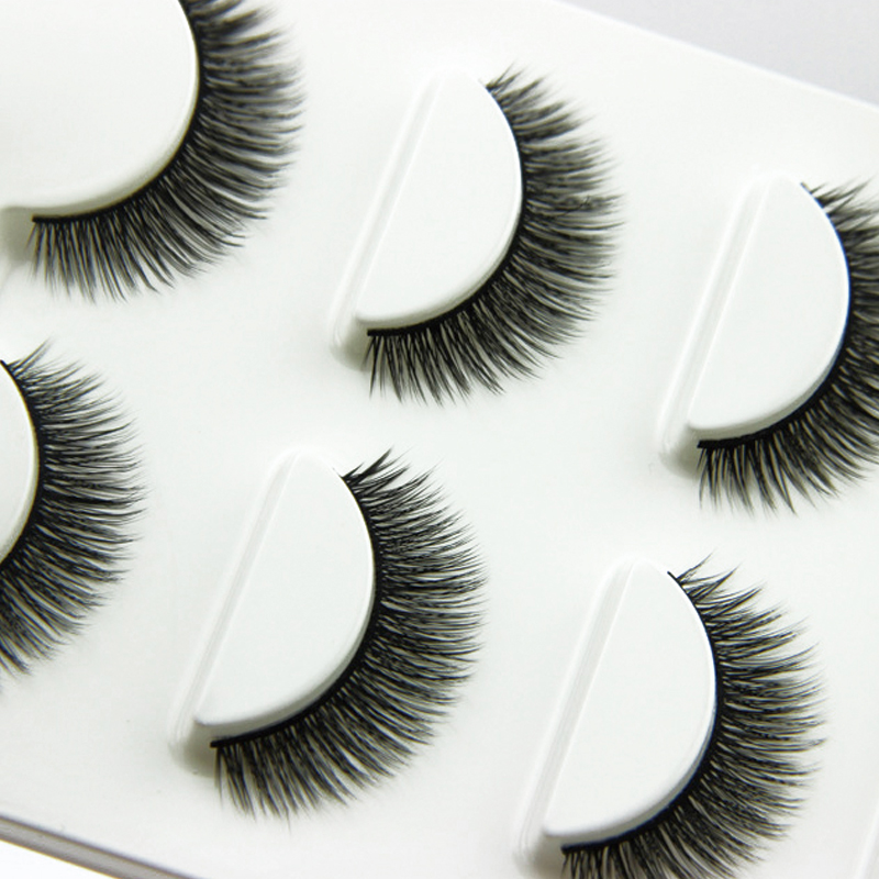 3 Pair Crisscross False Eyelashes For Building Artificial Eyelashes Long Thick Fake Eyelash Makeup Tips False Lashes Extensions