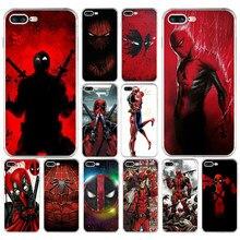167 H Legal Deadpool Marvel Herói Suave Silicone TPU Caso Capa Para O iPhone Da Apple 6 6 s 7 8 plus caso