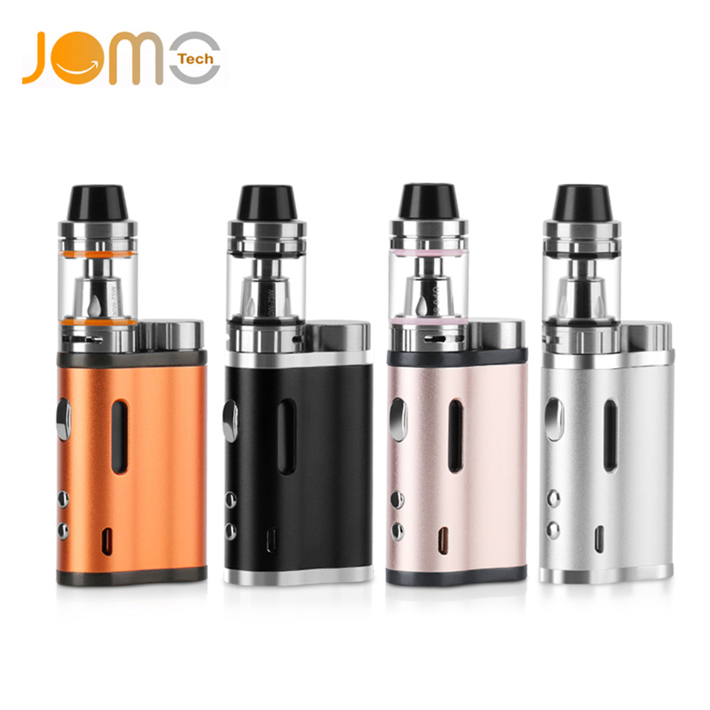 JOMOTECH Lite 76W Without 18650 Battery E Cigarette Kit 0.5Ohm 2ml Vaporizer Box Mod LED Vape Electronic Cigarette Kits jomo-257