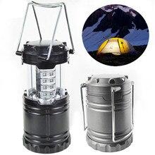 30 LED Camping Lantern Multifunction Outdoor Portable Lantern For Tourist  Tent Mini Headlight Emergency Lamp Torch