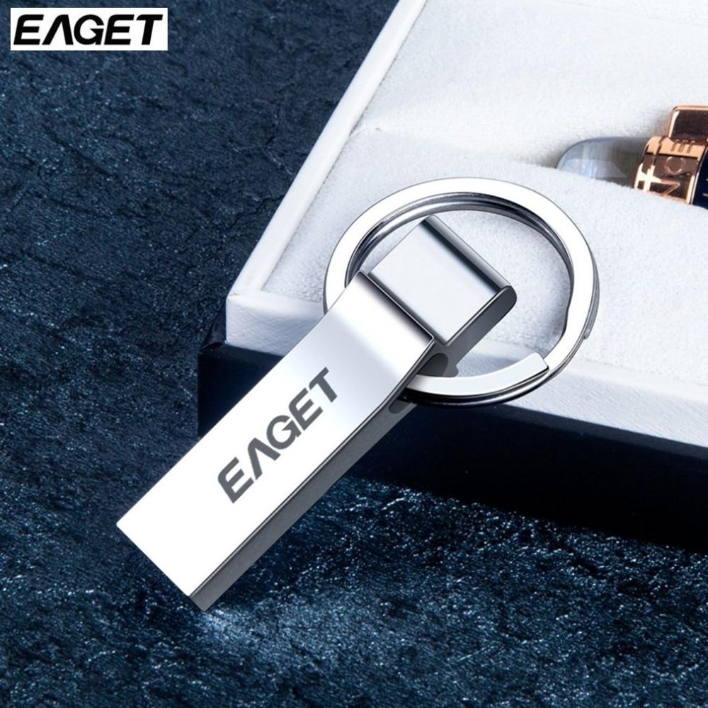 EAGET U90 USB Flash Drive 64GB 32GB 16GB USB 3.0 Interface Pen Drive Waterproof Memory Flash Stick Pendrive USB Storage Stick usb flash drive 16gb iconik танк rb tank 16gb