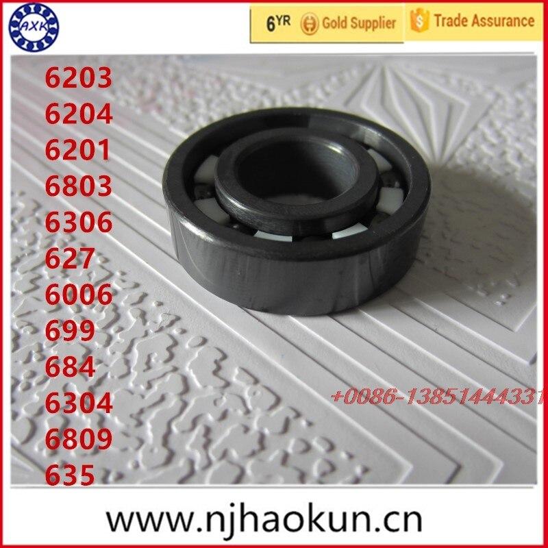 Free shipping 1pcs 6203 6204 6201 6803 6306 627 6006 699 684 6304 6809 635 full SI3N4 ceramic bearing free shipping 1pcs 685 6904 634 6006 639 6008 627 605 636 6906 625 624 687 full si3n4 ceramic bearing