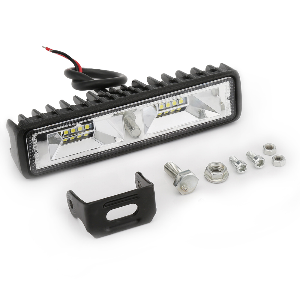 Tanie 6 Cal 48 W 16 Led Work Light Bar Spot Flood światło
