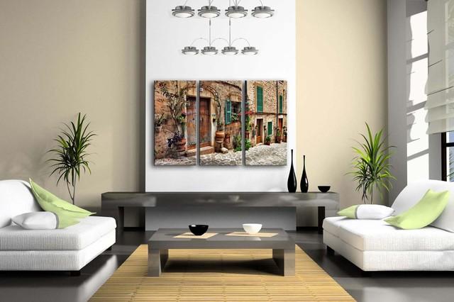 3 Panels Framed Wall Canvas Print
