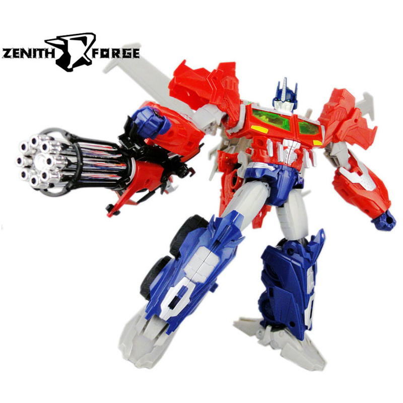 (IN STOCK) Toys ZENITH FORGE - ZF-002 BEAST HUNTERS PRIME HEAD AND GUN UPGRADE KIT - CHROME
