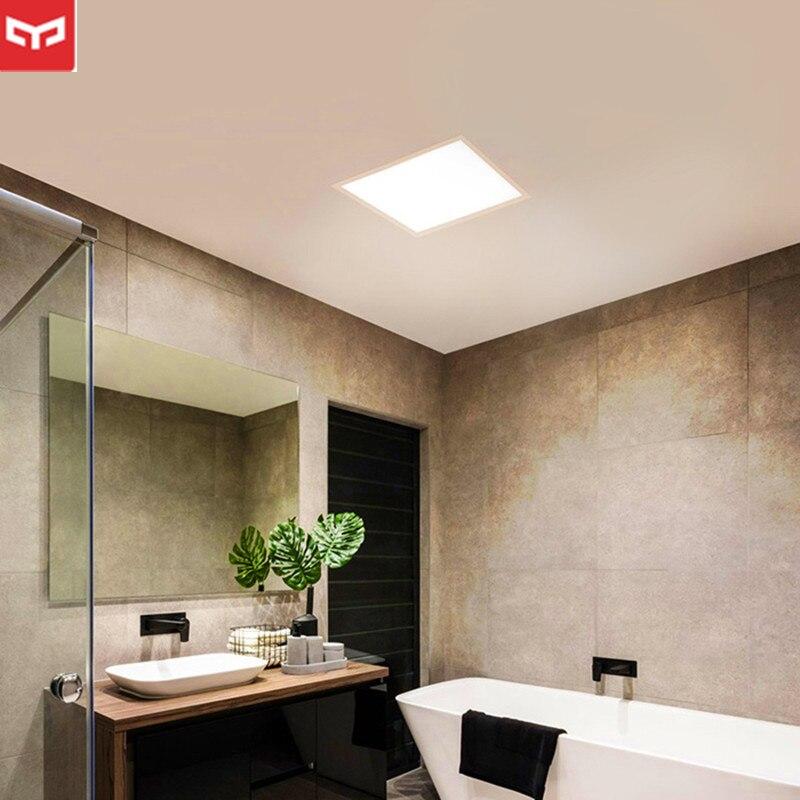 Оригинальный Xiaomi mi YEELIGHT ультра тонкий пылезащитный светодио дный Панель свет Спальня потолочный светильник для сяо mi умный дом Наборы анти-...