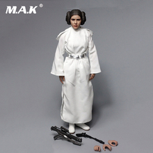 Clothing set AFIRE A012 1/6 Scale New Hope Princess Leia Action Figure Toy For Collection A013 only clothing With no head