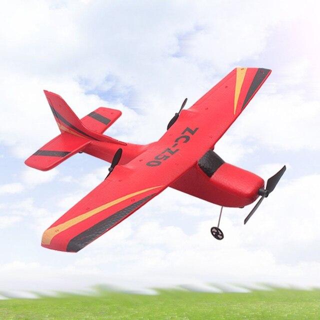 Z50 2 4G 2CH 350mm Mikro Kanat Açıklığı RC Planör Uçak Sabit Kanatlı Drone  EPP Yarış Uzaktan Kumandalı oyuncaklar