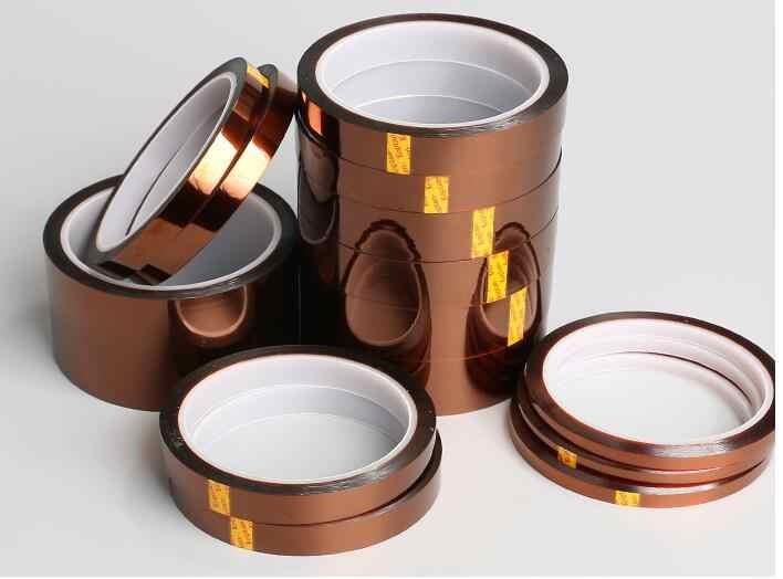5 шт. 5 мм x 33 м высокотемпературная термостойкая лента теплозащитная лента полиимидная лента для BGA PCB SMT 3d принтера до 250 Цельсия