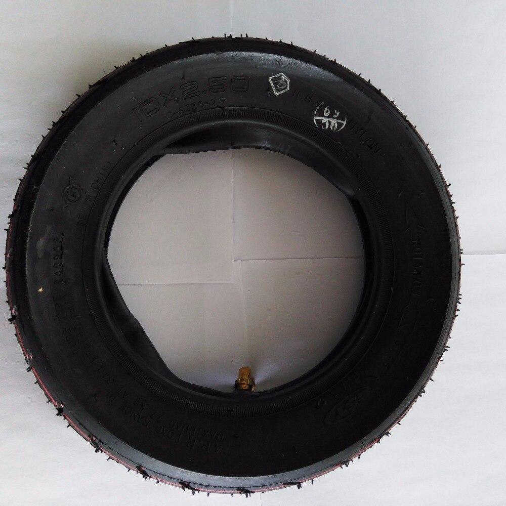 10 pouce Pneumatique Pneu pour Scooter Électrique Dualtron et Speedway 3 avec tube intérieur 10x2.5 Pneu gonflable