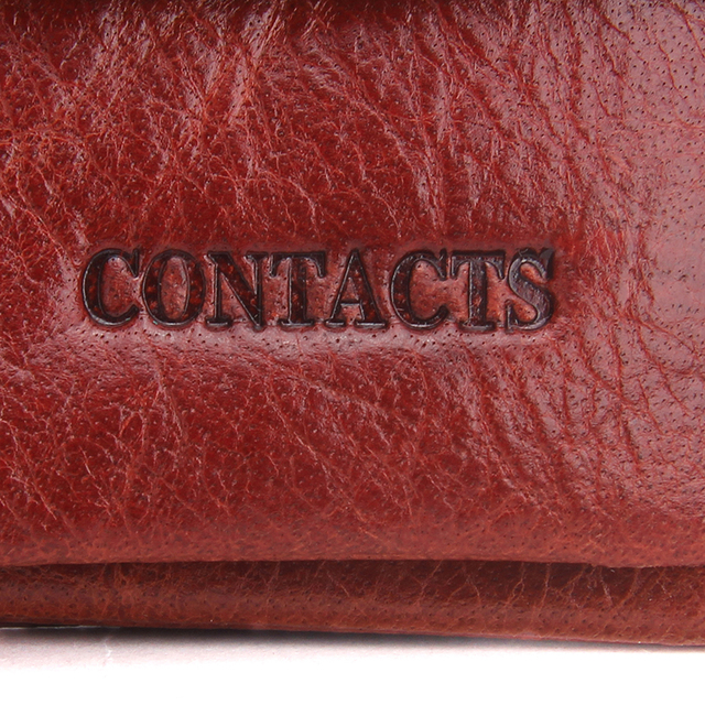 Long Cow Leather Wallets for Women