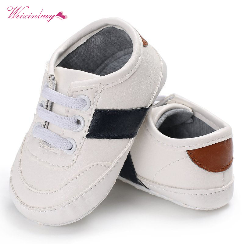 PU leather Baby Moccasins Infant Newborn Baby Shoes For Kids Sneaker Sport Shoes Toddler Baby Boy Girls Mocassins