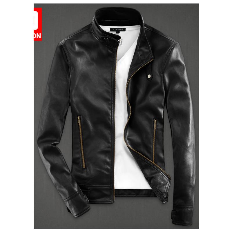 Acheter MRMT 2018 marque hommes de veste en cuir veste nouveau beau loisirs  pu cuir veste ... dc958c16ecc