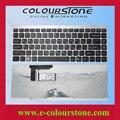 Клавиатура Для Sony VAIO VGN-FW FW VGN-FW275D VGN-FW285D VGN-FW340D VGN-FW350D FW455D FW510D 148084172 Русский Черный Серебряной оправе
