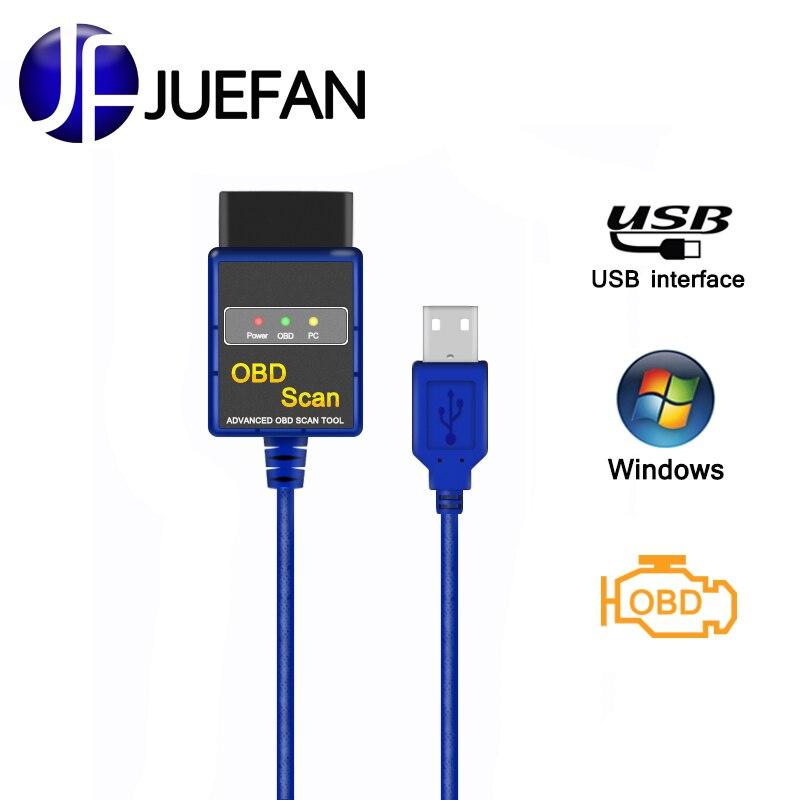 Neue USB Auto diagnose ULME 327 diagnose werkzeug obd2 Auto Diagnose Scanner ELM327 easydiag obd 2CAN-BUS eml327 Code reader