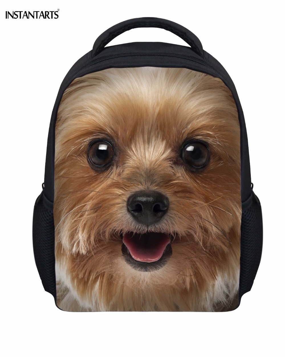 2d1dbe2e8e4 Instantarts cute animal dogs yorkshire terrier printed boys jpg 1000x1252 Kindergarten  boys backpacks