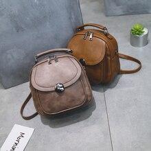 Модные женские туфли рюкзак искусственная кожа рюкзак женский 2017 дизайнерский бренд Рюкзаки для подростка Обувь для девочек мини shouldes сумка Mochila