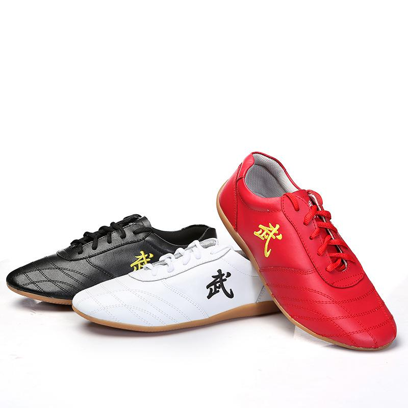 Chinese Vintage Adult Child Taichi Shoes Size 30 48 Women Men Kung Fu Shoes High Quality Traditional Wushu Performance Shoes-in Shoes from Novelty & Special Use    1