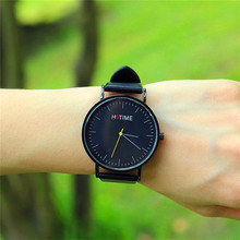 Fashion casual luxury brand leather simple design watch men women sports watch for ladies dress gift