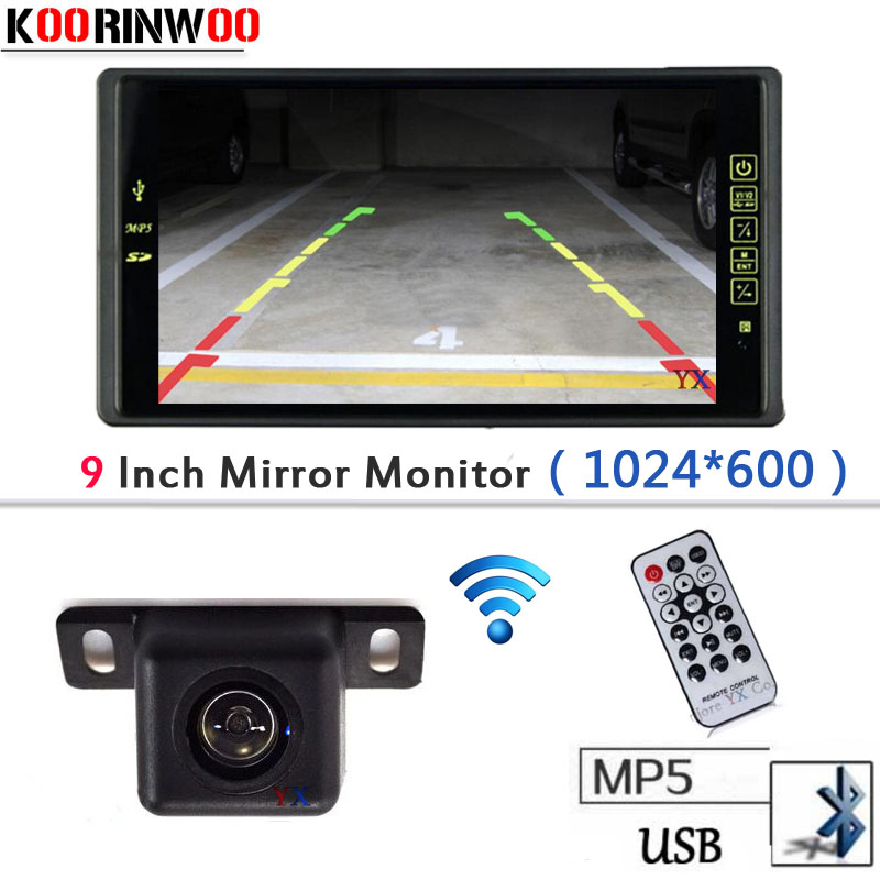 9 LCD-TFT Car Monitor Vehicle Player Bluetooth MP5/MP4 FM Media USB SD SLOT Video RCA Parking Car Rear view camera Reversing wireless adopt 9 lcd tft 1024 800 car monitor with bluetooth mp5 mp4 fm usb sd slot video input parking car rear view camera