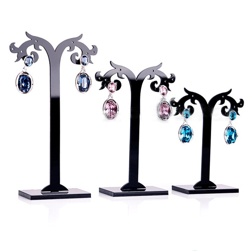 3 Pcs//Set Acrylic Earrings Display Stand Jewelry Organizer Holder Removable Hot
