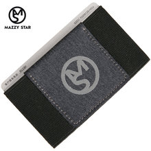 Mazzy Star Wallet With Back Pocket ID Card Holder RFID Blocking Mini Slim Wallet Credit Card Coin Purse MS_101(China)