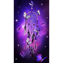 Diy Diamond Painting butterfly Full Rhinestones Cross Stitch 5D Mosaic  Embroidery Indian Dream catcher