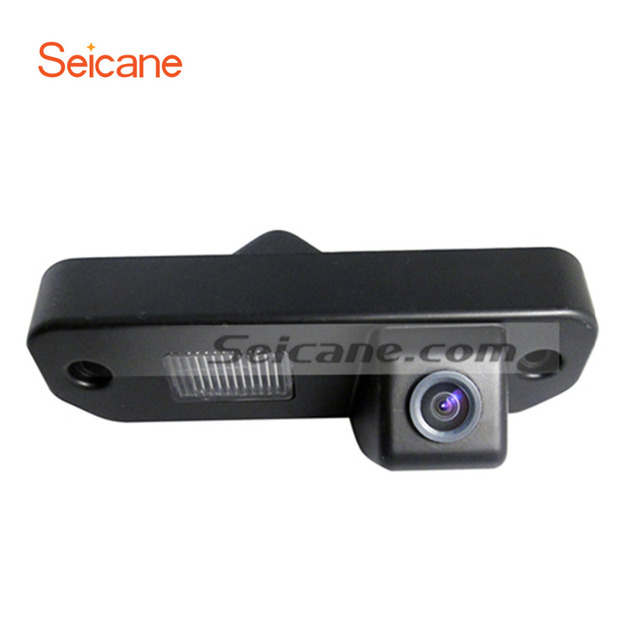 Seicane HD Hidden Cam Wired Car Parking Backup Reverse Camera for ...