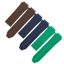 Watch accessories rubber strap men suitable for HUBLOT Hublot big explosion series silicone strap female waterproof watch band