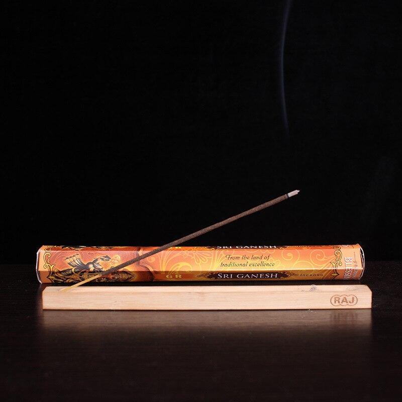 Sixed Smell India Stick Incense Lavender Elephant God Smells Natural Floral Incenses Buddhist Supplies Sandalwood Indian Sticks