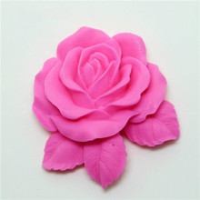 3D Silicon Mould handmade soap mold for cake decorative silicone die flower making molds
