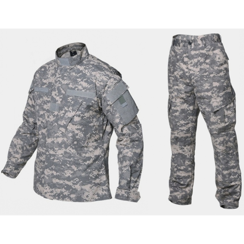 Army Military ACU Camouflage Tactical Uniform Combat BDU Suit Battlefield Clothes Men's Airsoft Paintball Hunting Clothing|Hunting Ghillie Suits| |  - title=