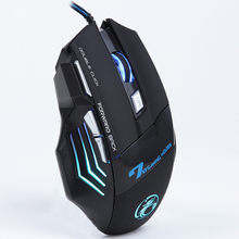 Malloom 2019 Neue 3200 DPI LED Optische 7 Tasten USB Wired Gaming Maus Gamer Rato Com Fio Für PC Laptop computer Ohne Müdigkeit(China)