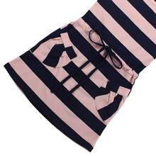 Dress Girls Striped Casual Style Clothes 6-14 Year