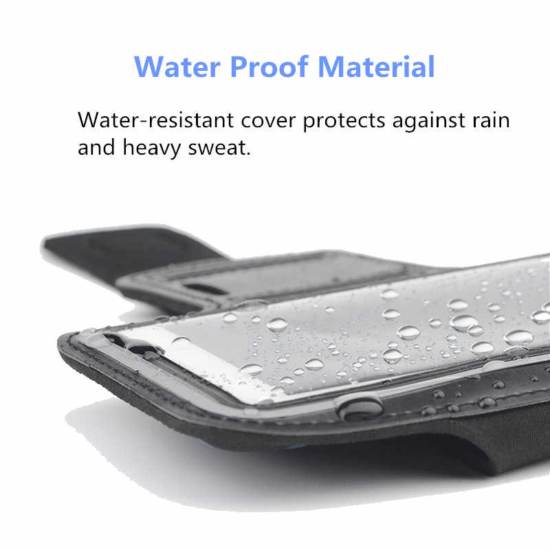 Waterproof Armband Running GYM sport phone bag case For Xiaomi Mi 2A/2S/M2/Mione 1S/Note 2 3 4 Arm Band Mobile cell phones Pouch