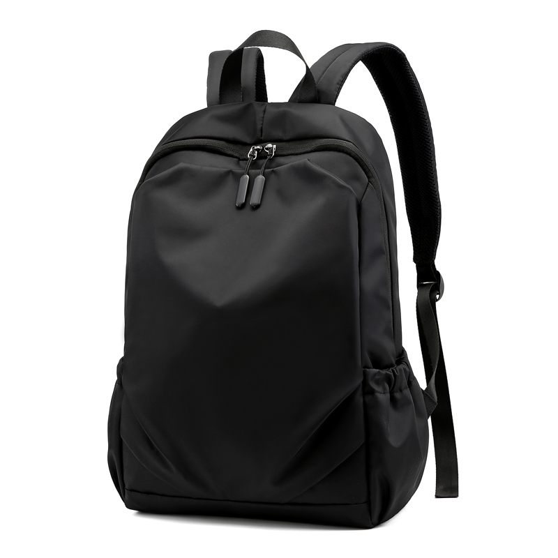 Waterproof Men Black Backpack For Travel 15.6 Inch Laptop Backpacks With Usb Charging School Back Pack Men Nylon Schoolbag Bags