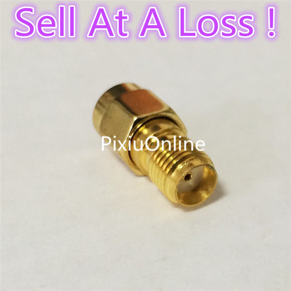 2pcs/lot YT70B RP-SMA Male Plug Switch SMA Female Jack RF Coax Adapter Convertor Connector Straight Goldplated Sell At A Loss 6pcs adapter rp sma jack male to 2 rp sma plug female t rf connector triple
