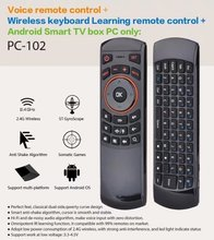 Rato ar MX6 Air Mouse Mini 2.4 ghz Wireless mini Keyboard Air Mouse Handheld Controle Remoto para Mini PC TV caixa