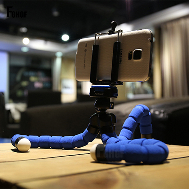 Flexible Octopus TriPod Stand for Phone Camera