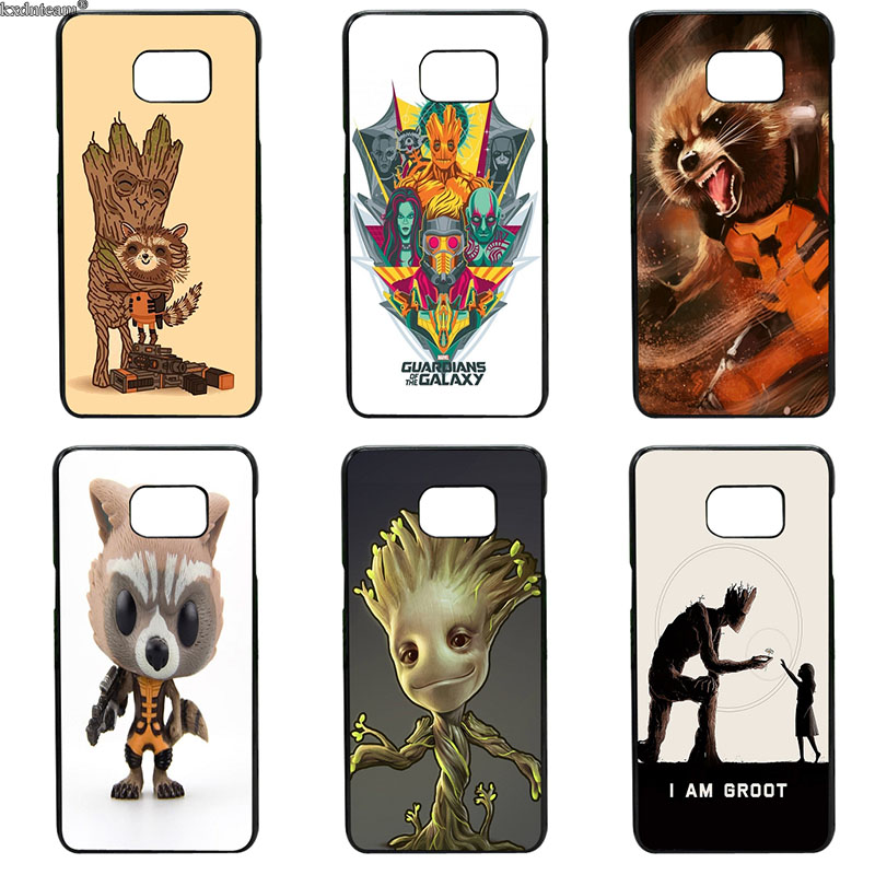Guardians of Galaxy Marvel Rocket Fun Dynamic Cases for Samsung Galaxy S8 S9 Plus S2 S3 S4 S5 Mini S7 S6 Edge Plus Active Shell